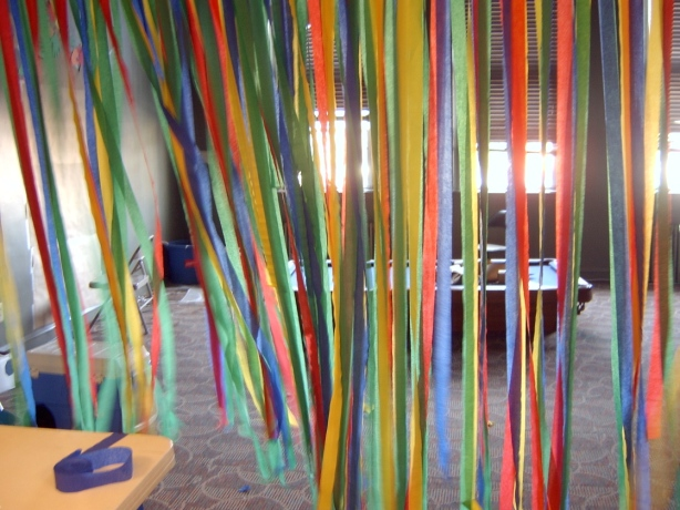 streamers in my class